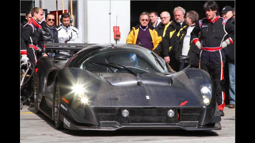 Ring frei: Ferrari P4/5 Competizione