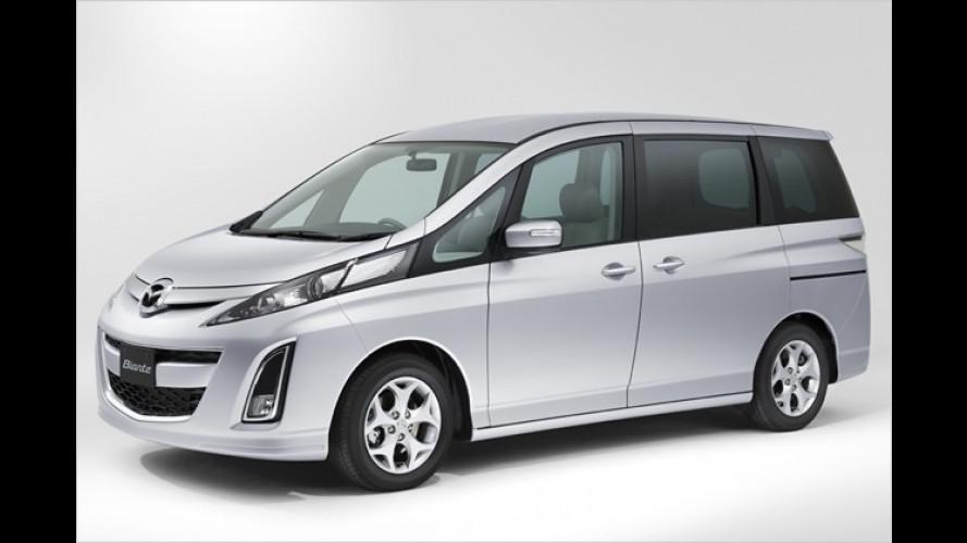 Mazda Biante: Der Riese unter den Minivans ist aus Fernost