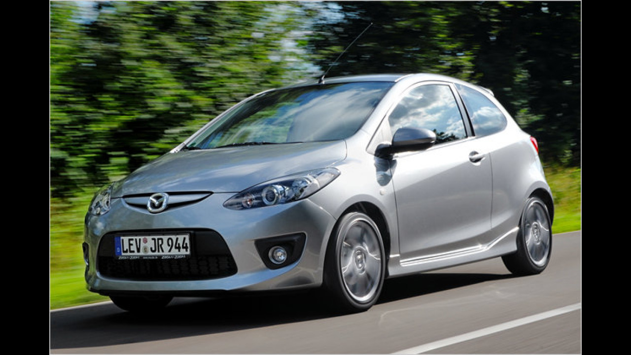 Mazda 2: Neuer Diesel