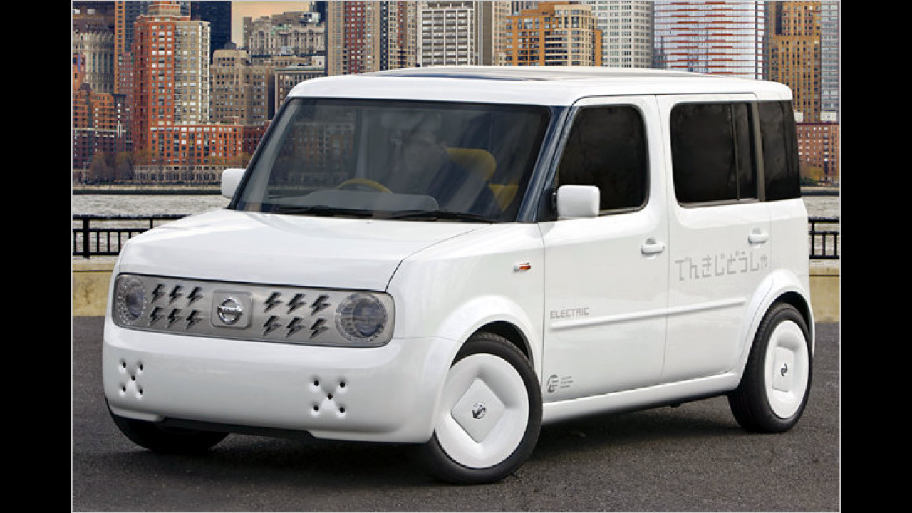 Nissan Denki Cube Electric Vehicle Concept