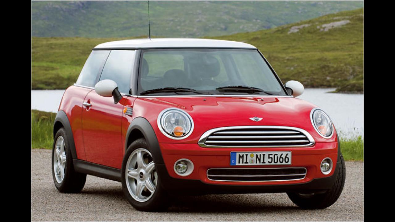 Frauenauto: Mini Cooper