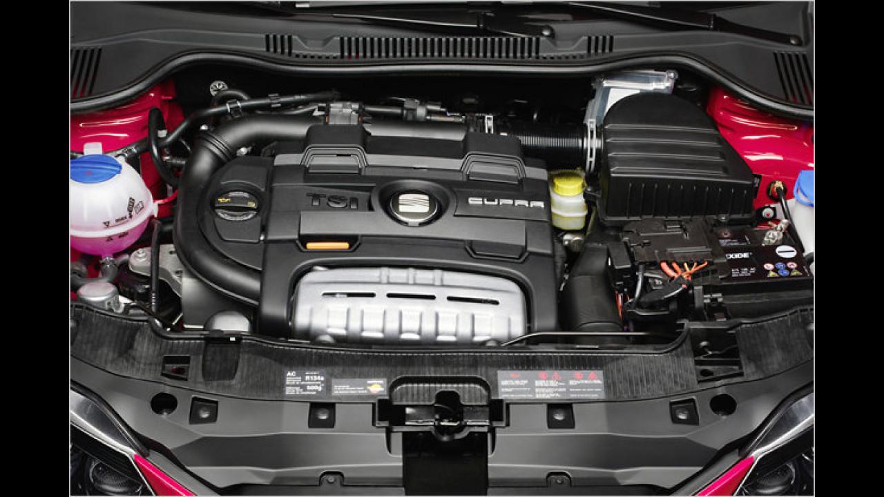 Bester Motor von 1,0 bis 1,4 Liter Hubraum