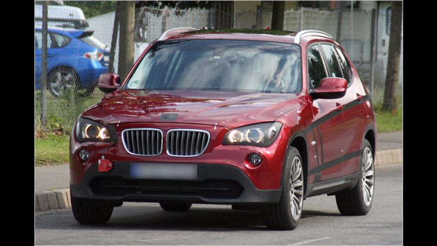 Erwischt: Der neue BMW X1 lässt fast alle Hüllen fallen