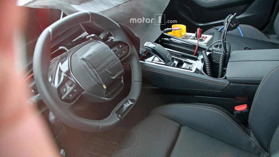 2018 Peugeot 508 Spied Inside For The First Time
