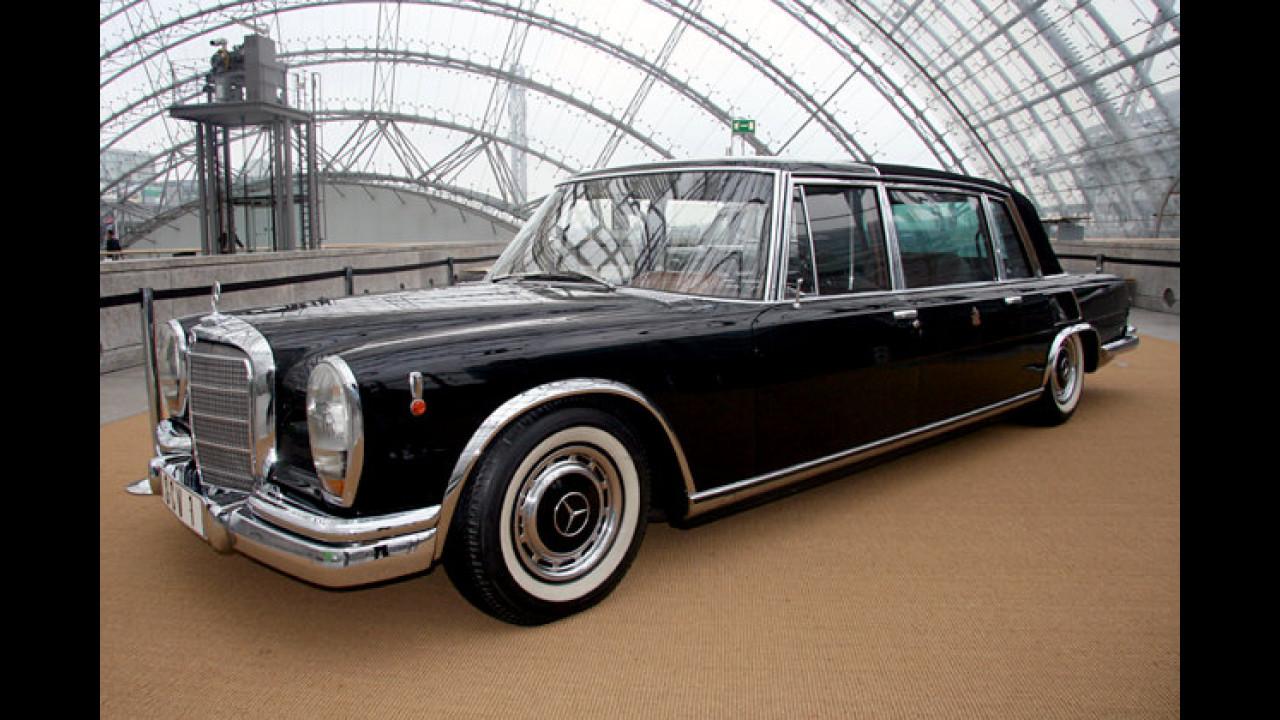 Mercedes 600 Pullmann Landaulet (1965) von Papst Paul VI.
