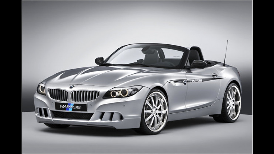 Fort mit den Sperren: Hartge entfesselt den BMW Z4