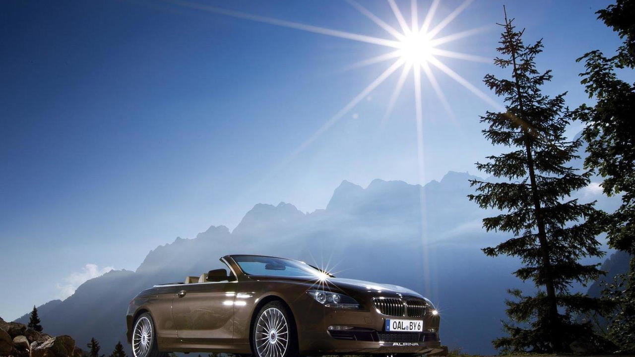 BMW Alpina B Biturbo Convertible Revealed Motorcom Photos - Bmw alpina b6 biturbo price