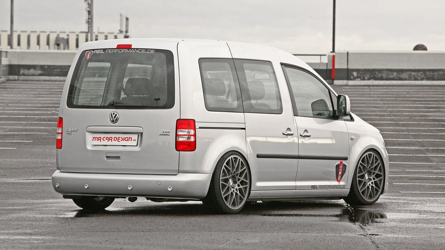 Volkswagen Caddy gets air suspension by MR Car Design