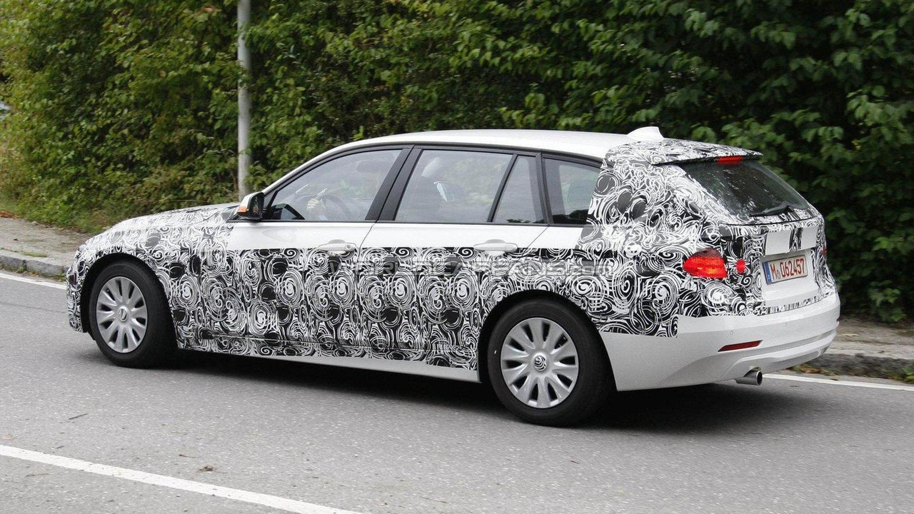 2012 BMW 3 Series Touring Spied 09092011