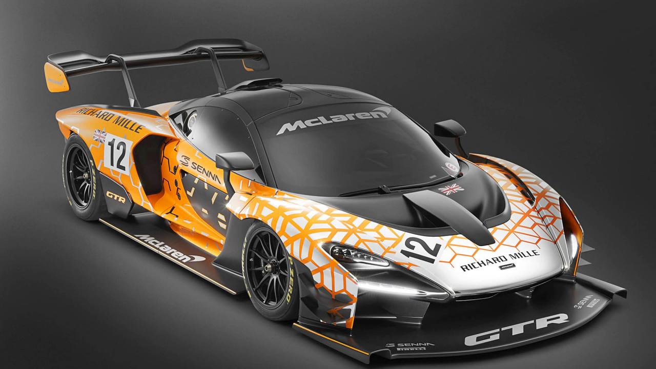 McLaren Senna GTR Concept