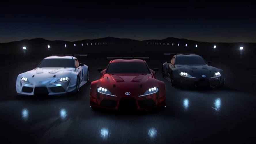Watch The Toyota GR Supra Racing Concept Make Its Video Debut