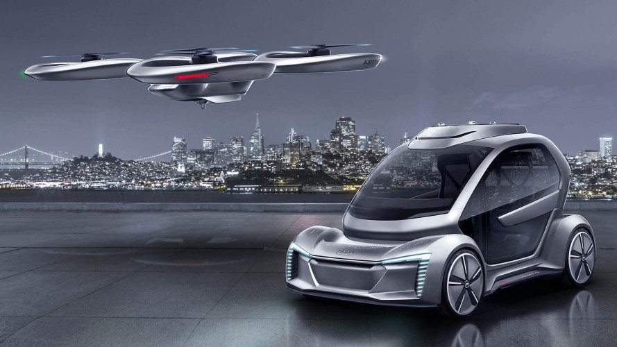 Audi, Italdesign und Airbus zeigen Pop.Up Next (2018)