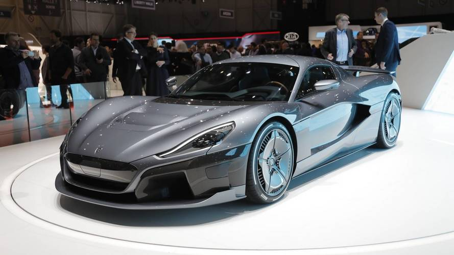 Rimac C_Two Shocks Geneva With 1,888 HP, Goes 0-60 In 1.85 Seconds
