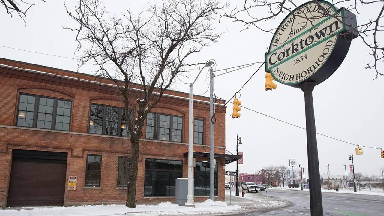 Fábrica da Ford em Corktown - Detroit