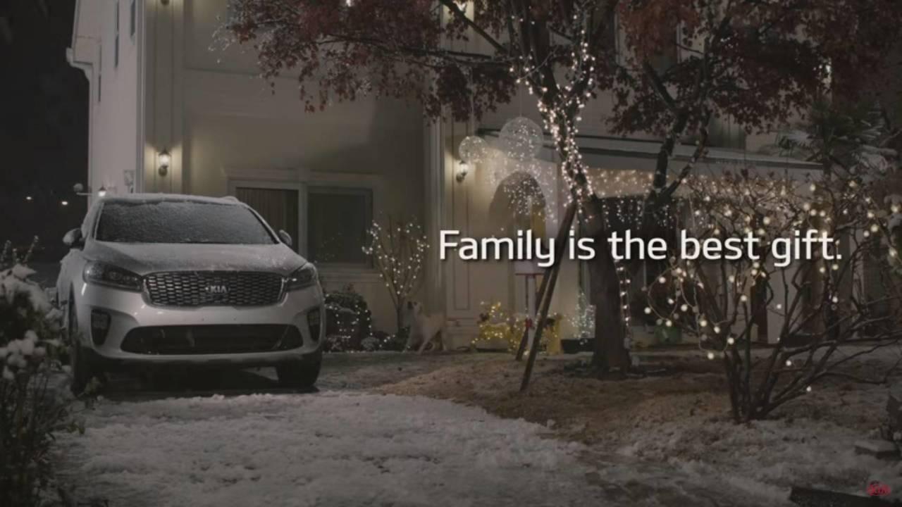 Kia karácsonyi üdvözlet