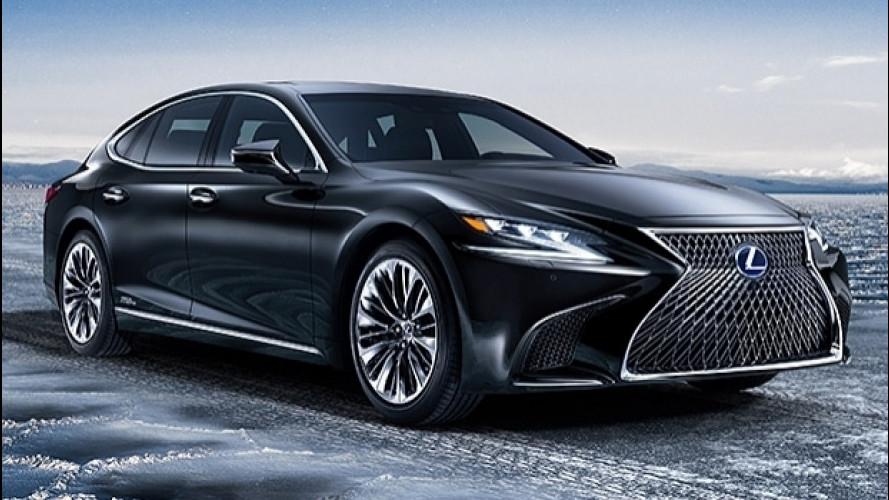 Lexus LS 500h, la nuova frontiera del lusso ibrido