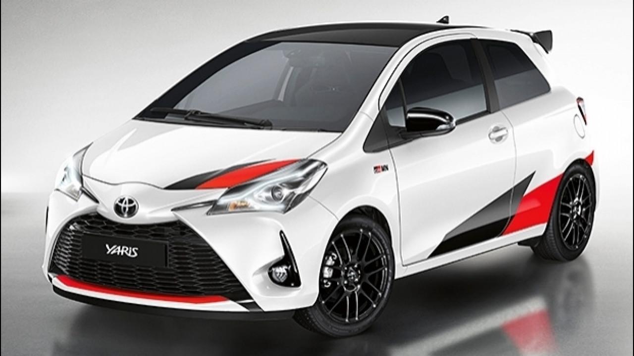 [Copertina] - Toyota Yaris GRMN, 210 CV e differenziale autobloccante