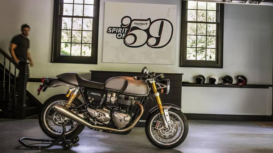 Triumph rinde homenaje al 59º aniversario de la Bonneville