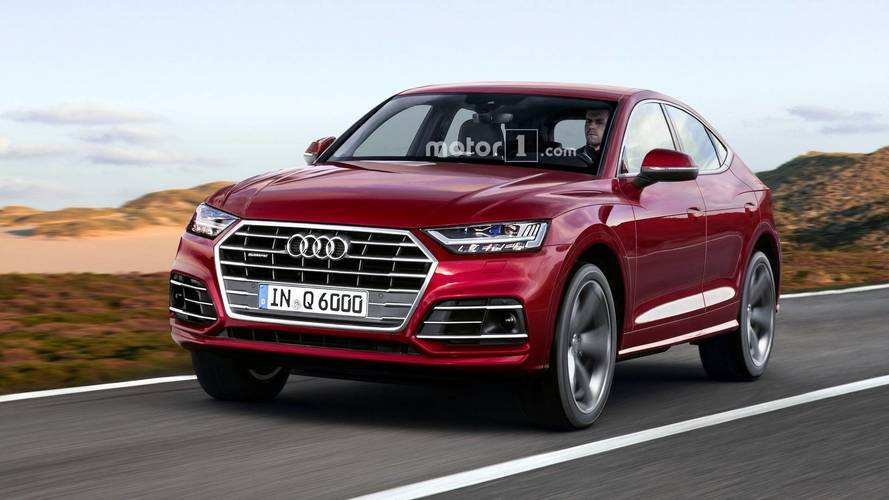Audi Q6 Render Is A Coupe-SUV Mashup That Could Happen