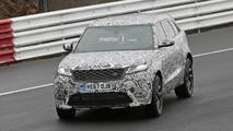 Land Rover Range Rover Velar SVR Spy Photos
