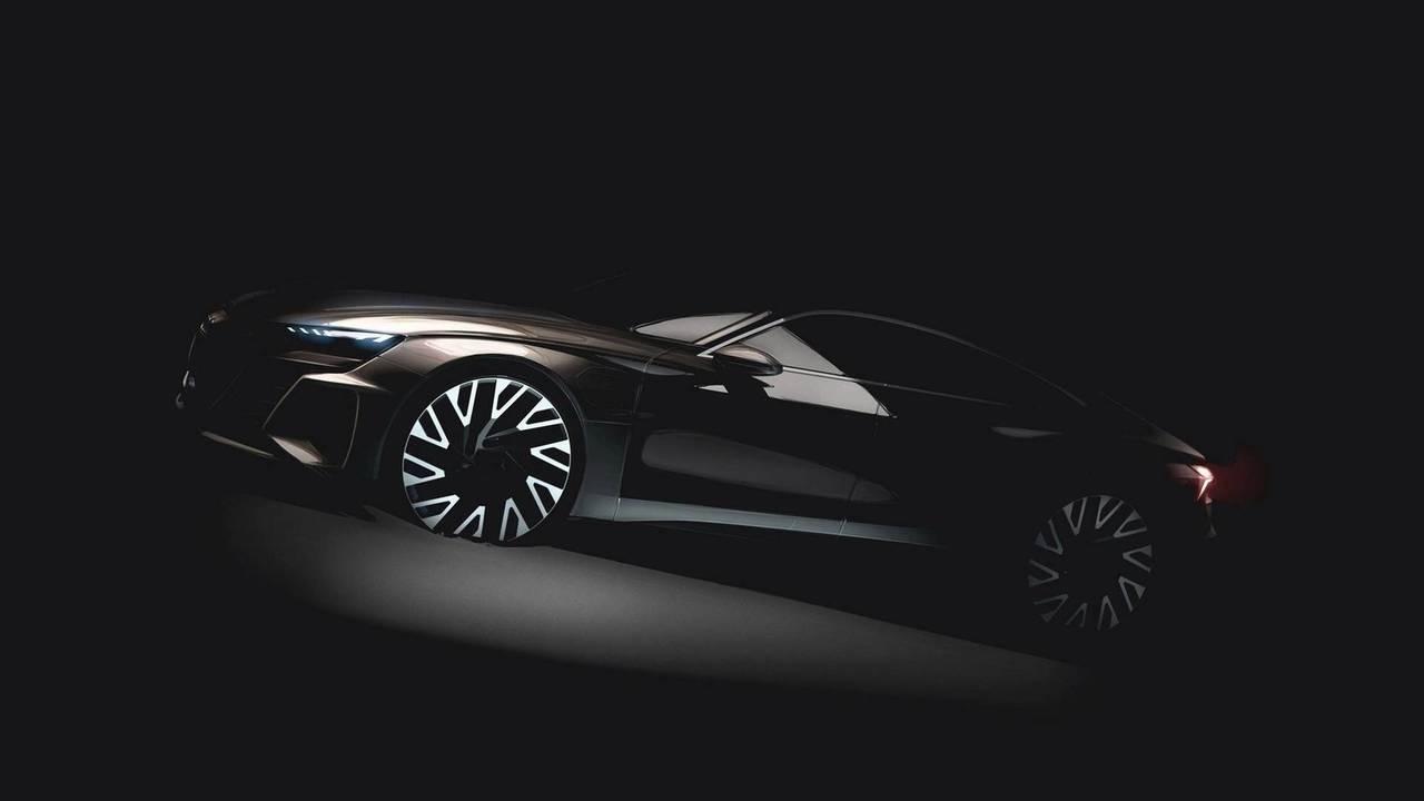 Audi E-Tron GT Prototip Teaser'ı