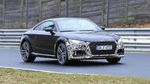 Audi TT Refresh Spy Photos