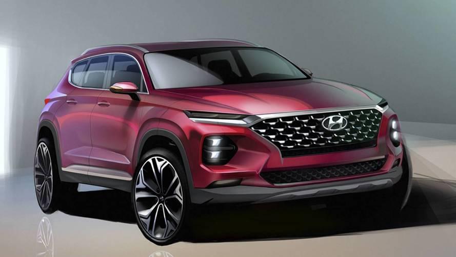 [GÜNCEL] 2018 Hyundai Santa Fe'nin teaser'ı geldi