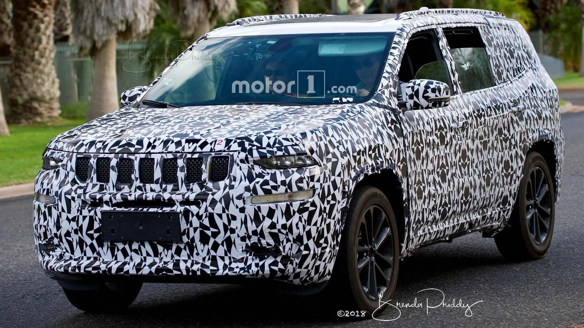 2019 Jeep Grand Wagoneer Price, Concept, Spy Photos >> Jeep Wagoneer Spotted In Near Production Form With New Details