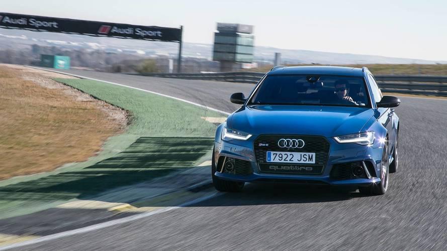 Prueba Audi RS 6 Avant performance 2018: nunca llegarás tarde