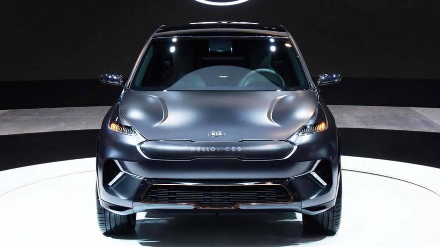 Le Kia Niro EV Concept sort de l'ombre