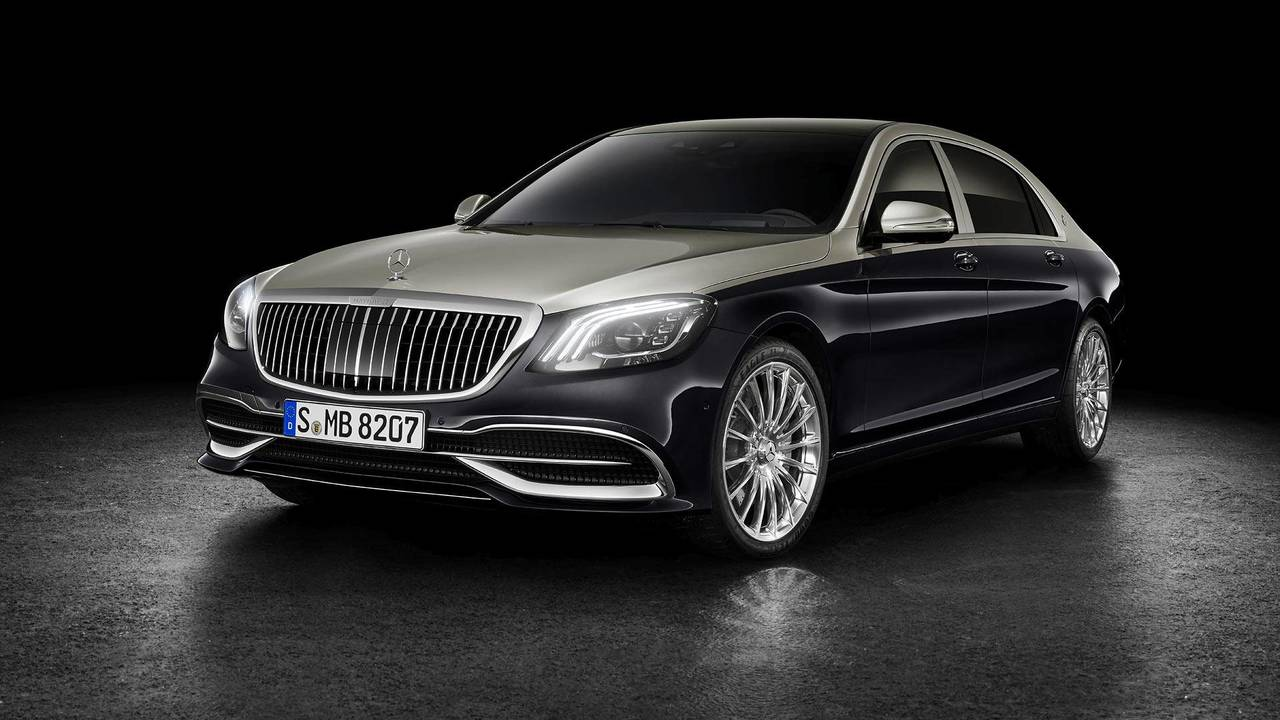 2019 Mercedes-Maybach S-Class Sedan