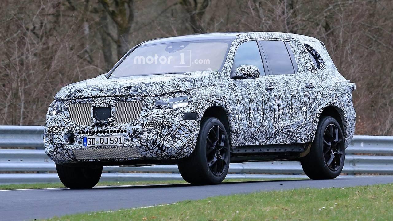 2019 Mercedes-Benz GLS Spy Photos