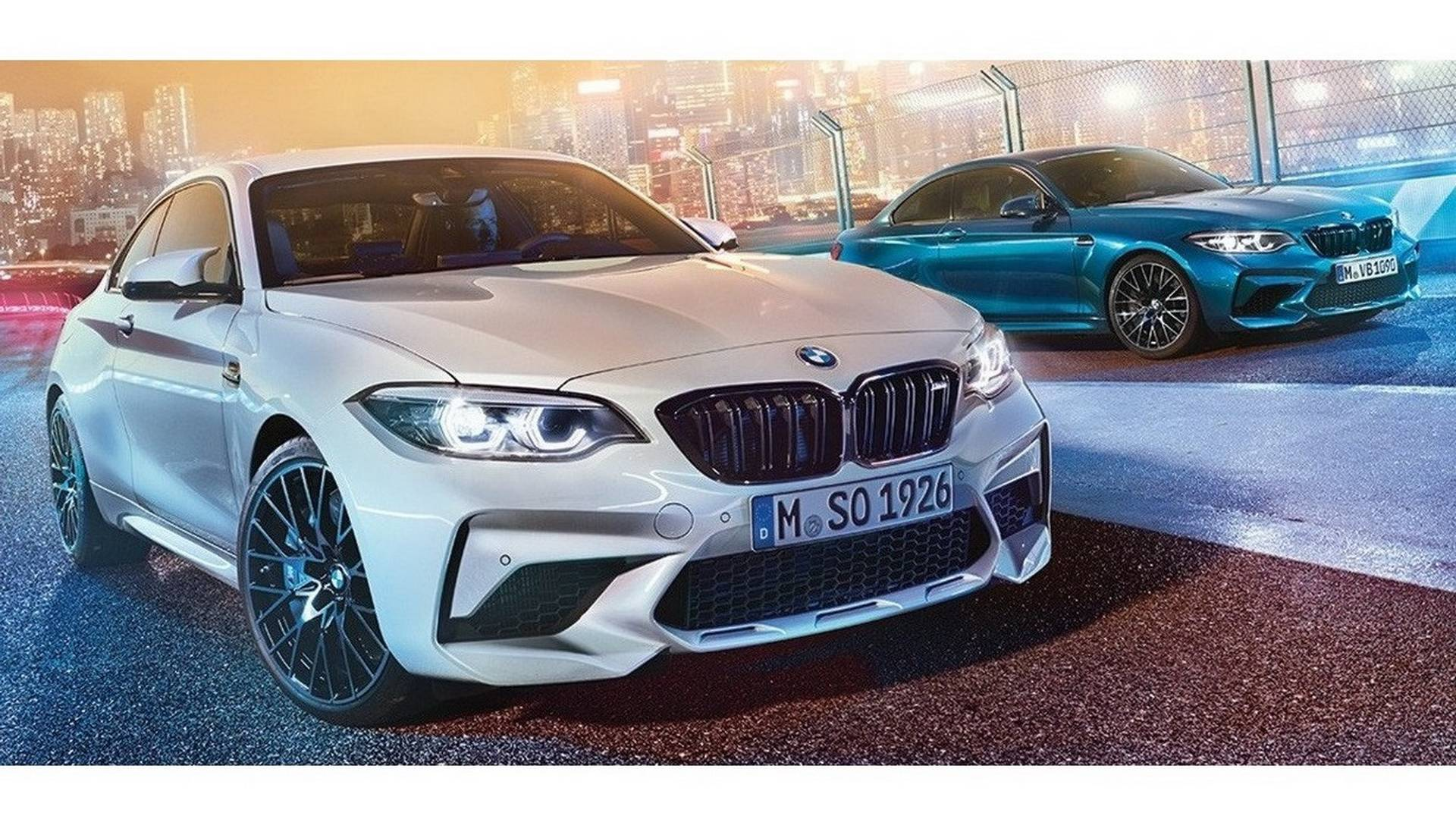 Leaked Specs Suggest Bmw M2 Competition Has 404 Hp 406 Lb Ft