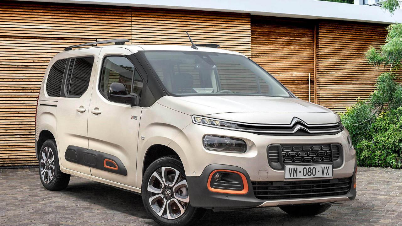 Citroën Berlingo, Peugeot Rifter, Opel Combo