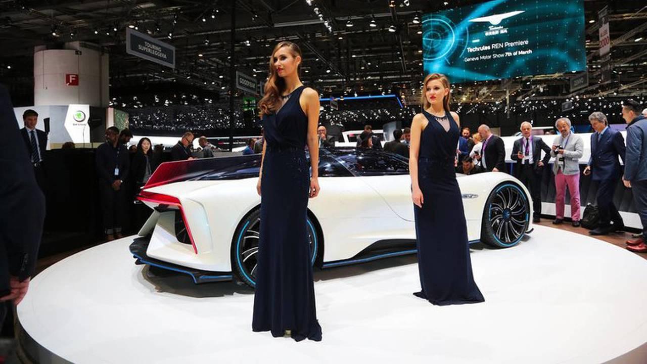 Geneva Motor Show Booth Girls