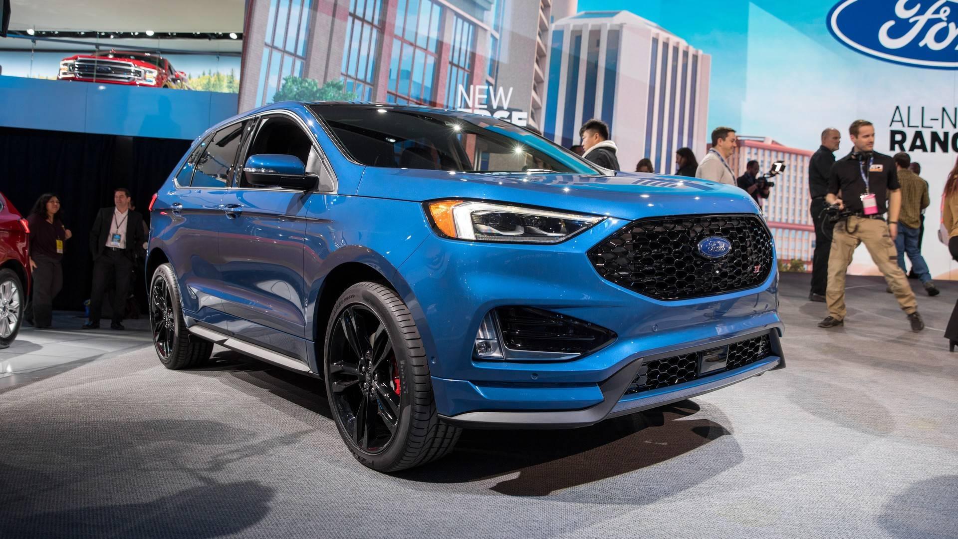 Ford Edge St Gets Even Edgier With Sport Mode Rev Matching Rh Motor Com