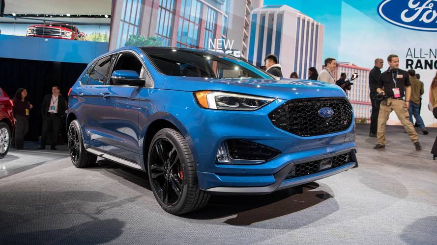 ford refreshes 2019 edge, launches 335 hp st model