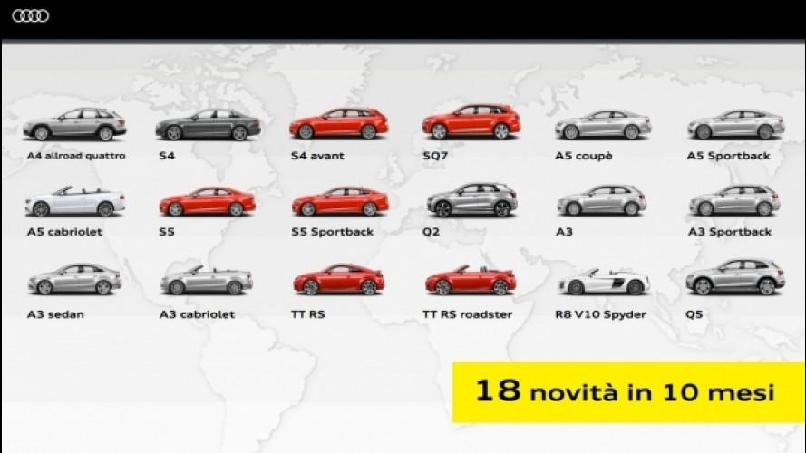 Audi, i Quattro Anelli della tenacia tedesca