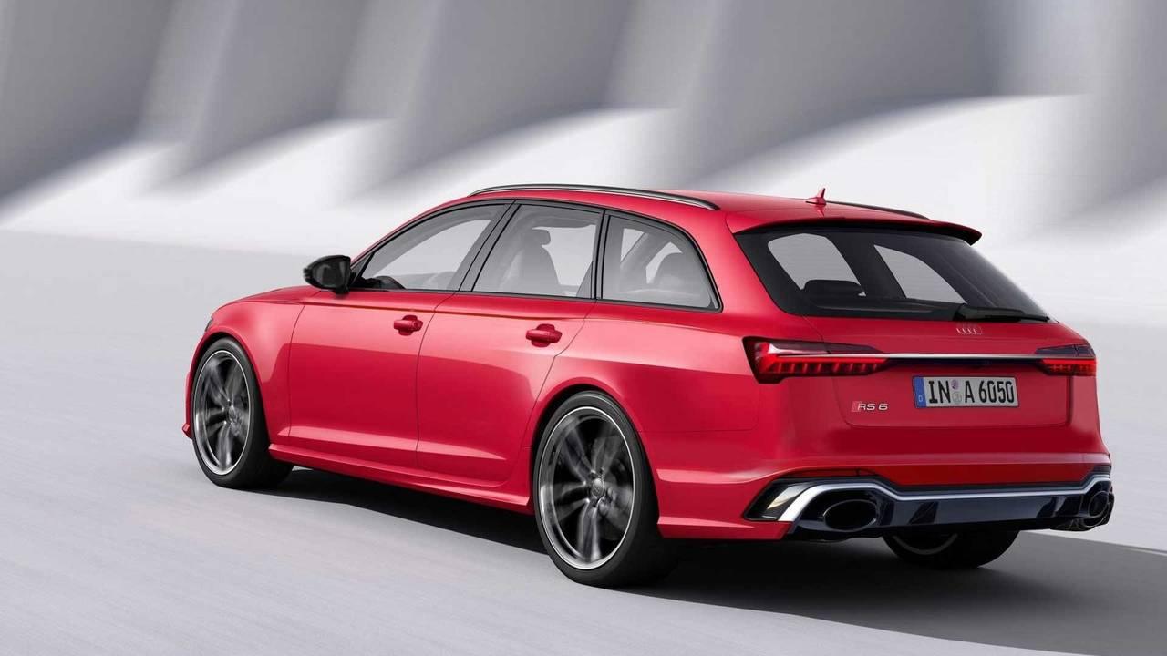 2019 Audi RS6 Avant Render