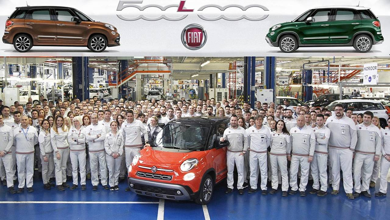 500'000ème Fiat 500L