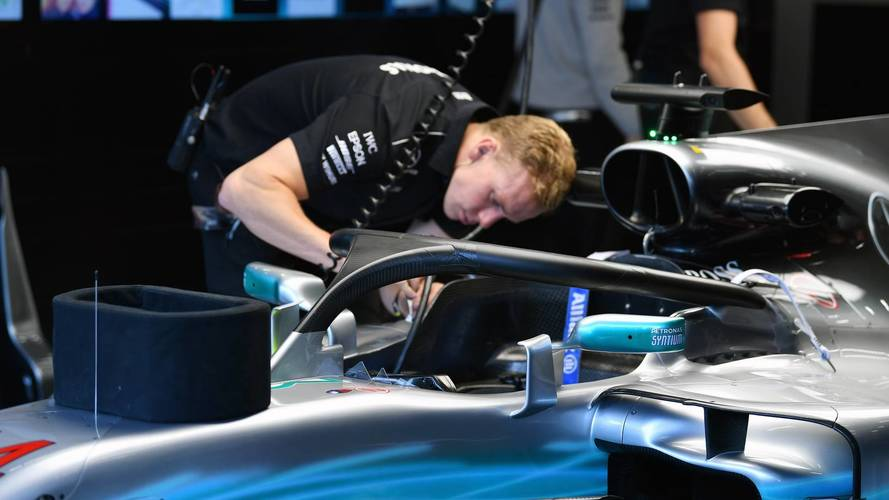 "Mercedes F1 Boss Says He Would Take Off Halo ""With A Chainsaw"""