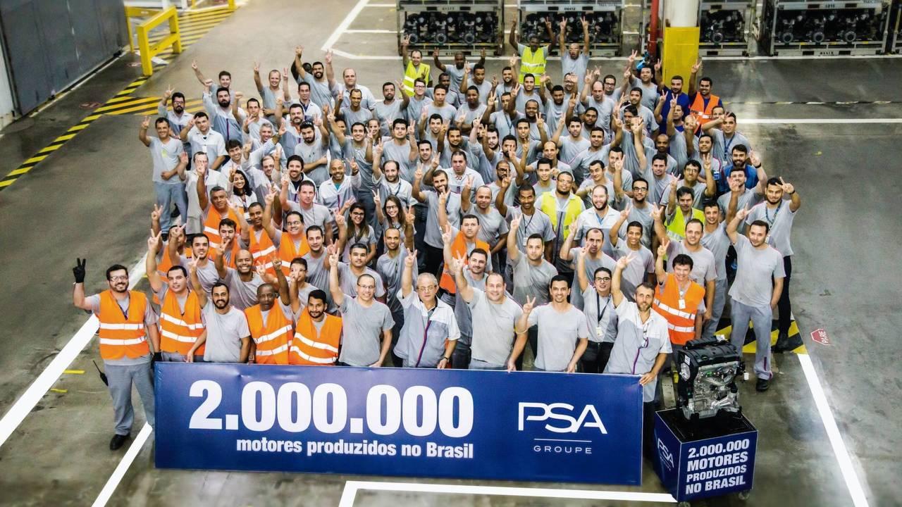 PSA 2 milhões de motores