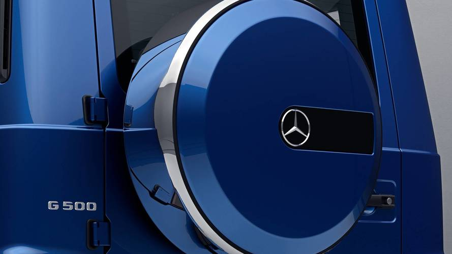 Mercedes G-Class Stainless Steel Package