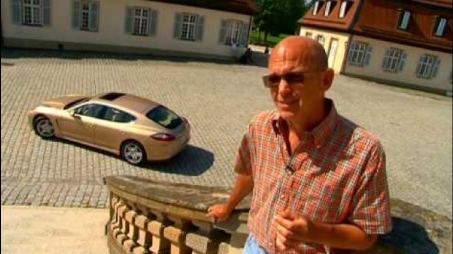 Porsche Panamera Turbo, una