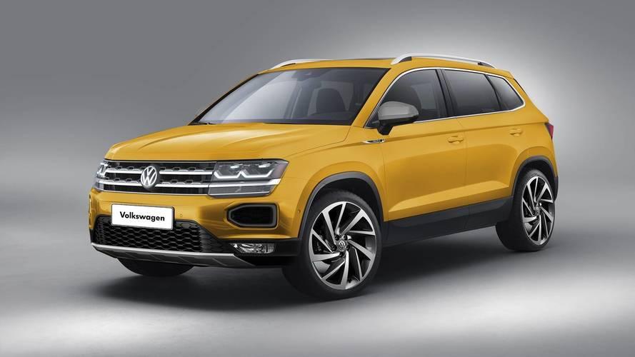 Novo Volkswagen Tarek - projeção antecipa visual do inédito SUV