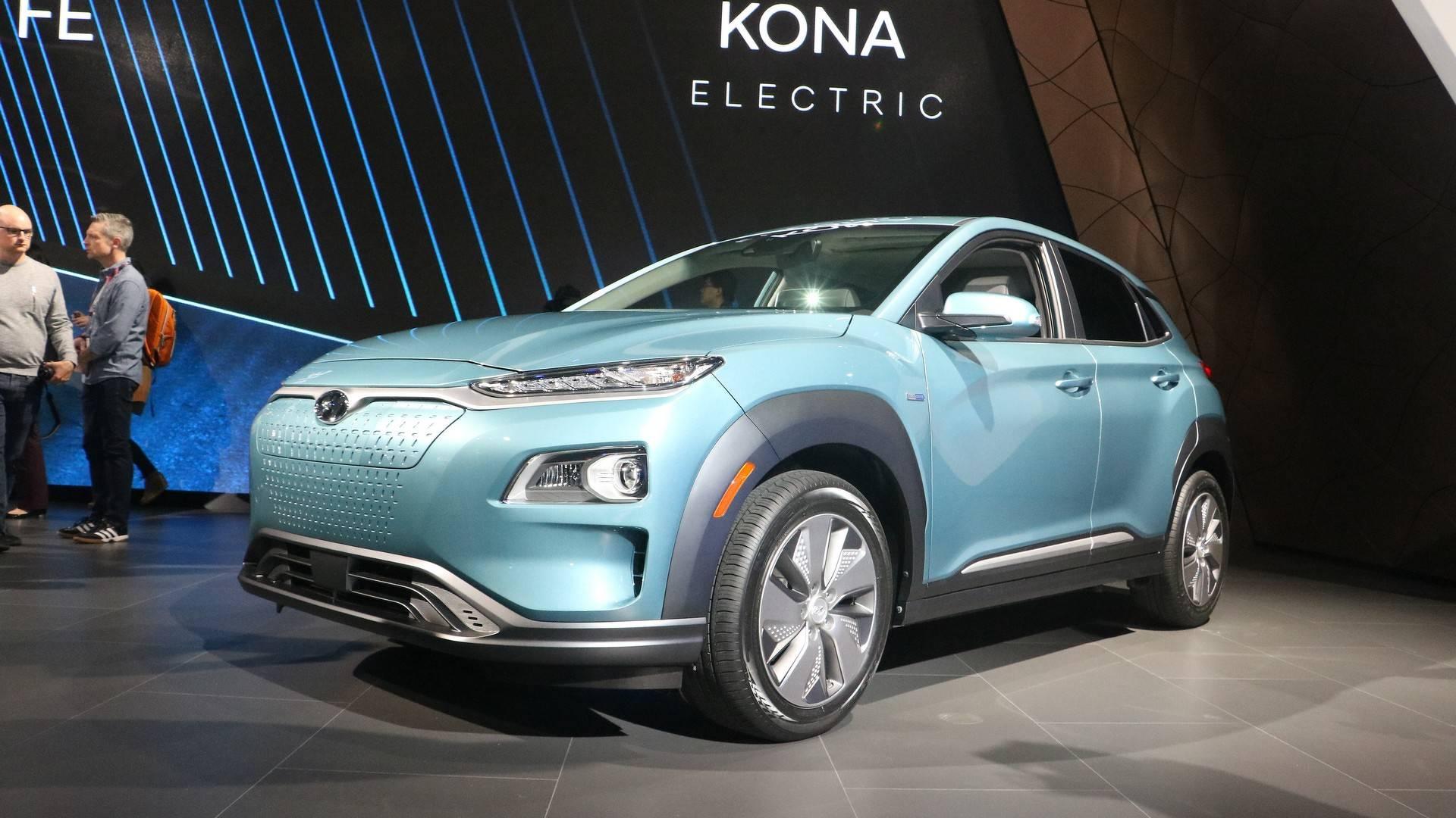 2019 Hyundai Kona Electric Has 250 Miles Of Range