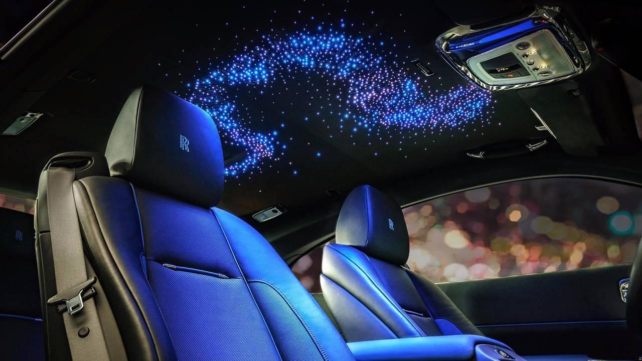 Ciel étoilé chez Rolls-Royce