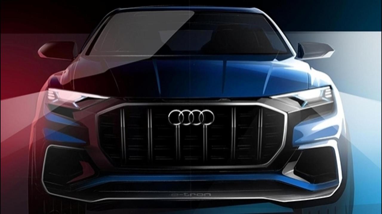 [Copertina] - Audi Q8 Concept, prove di SUV coupé per il 2019
