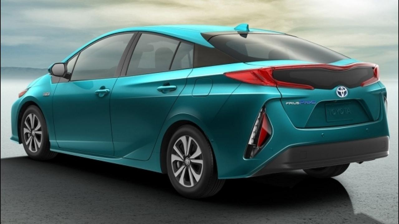 [Copertina] - Toyota Prius Plug-in Hybrid, mai così tecnologica