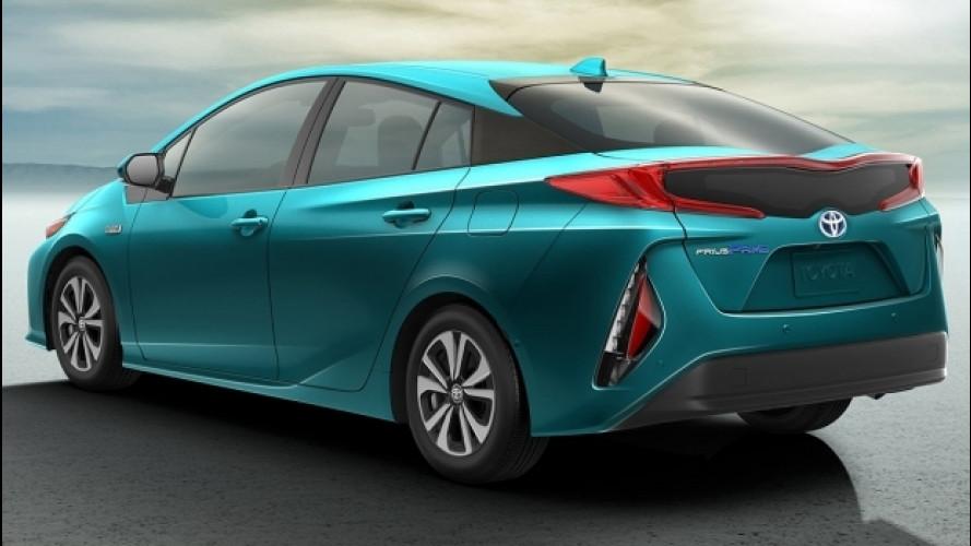 Toyota Prius Plug-in Hybrid, mai così tecnologica
